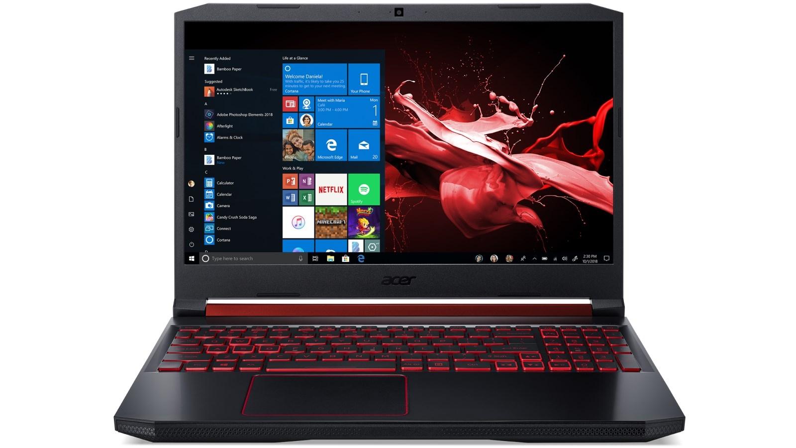ACER NITRO 5 best gaming laptop