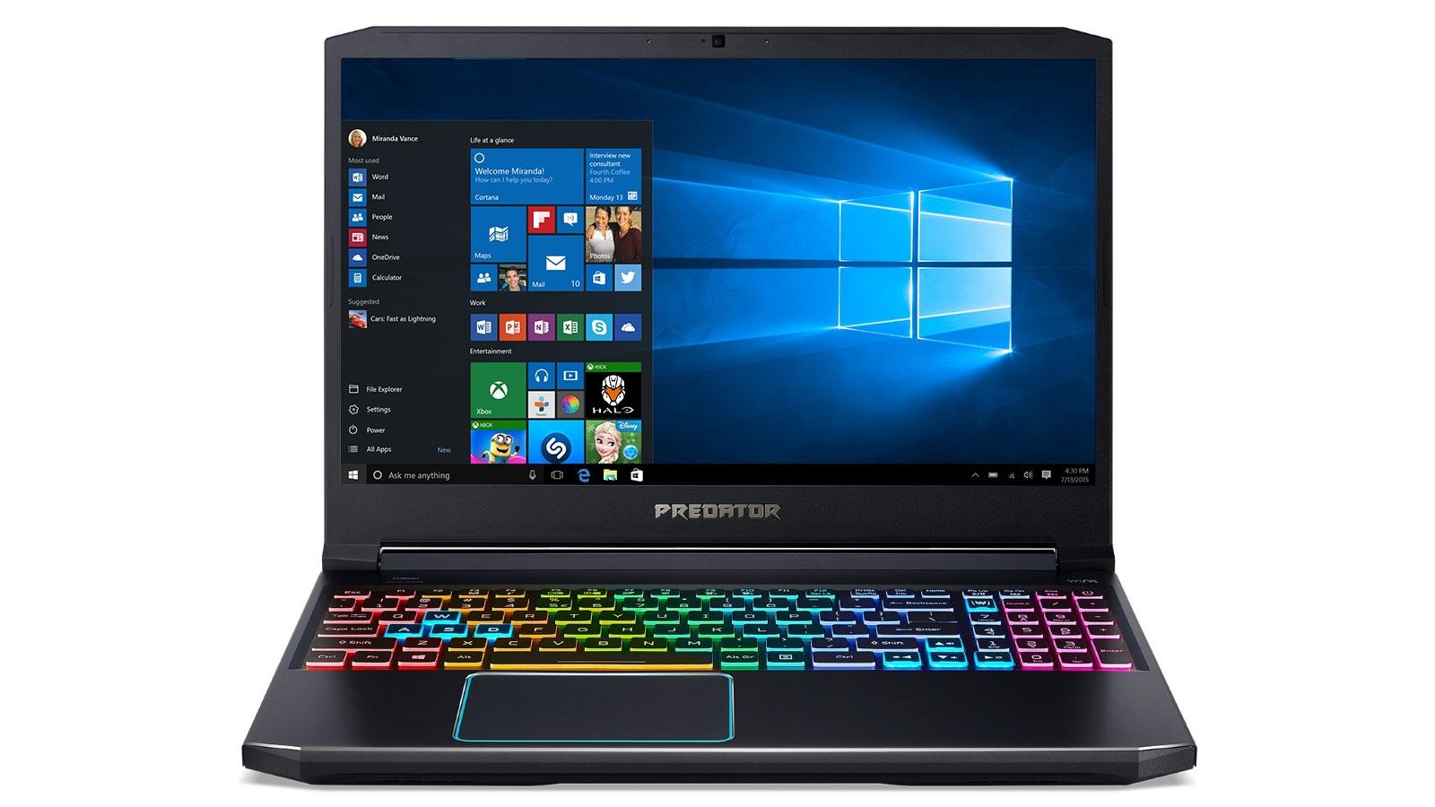 Predator Helios 300 15 6 Inch I7 16gb 256gb Ssd Laptop