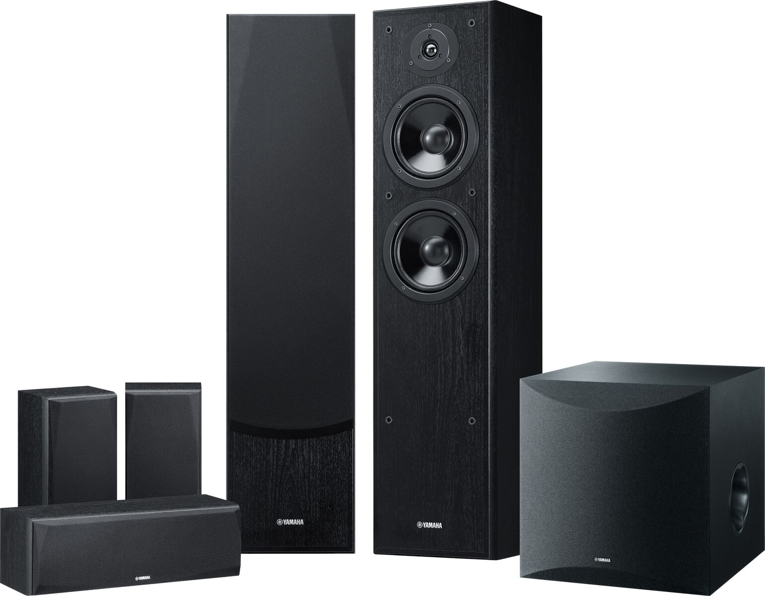 Yamaha NS100 Series 100.10 Channel Speaker Package