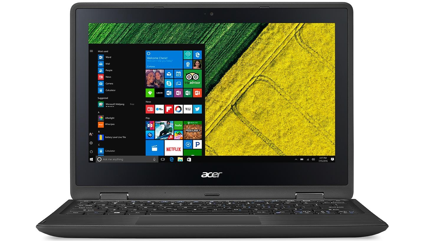 Image of Acer Spin 1 11.6-inch Celeron N4000/4GB/64GB eMMC 2 in 1 Device