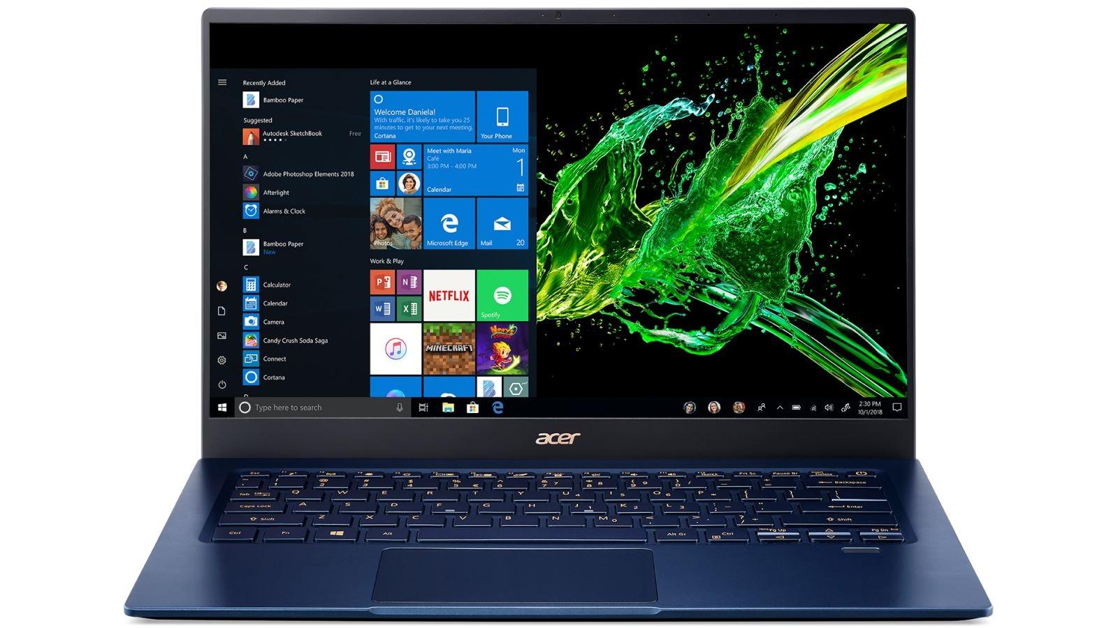 Hot Deals Acer Swift 5 14 Inch I5 1035g1 8gb 256gb Ssd Laptop Harvey Norman Au