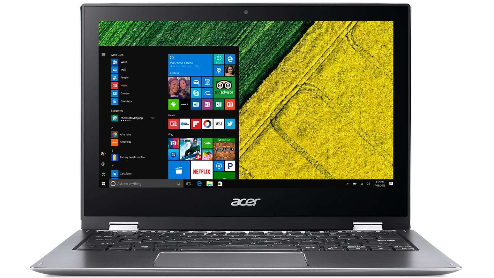 Acer Spin 1 SP111-32N-C060 11 6-inch 2-in-1 Laptop