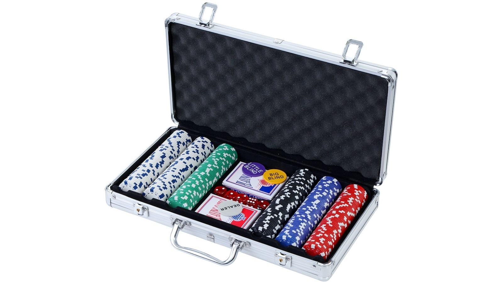 Buy Poker Chip Set 300pc Chips Cards Dice Harvey Norman Au