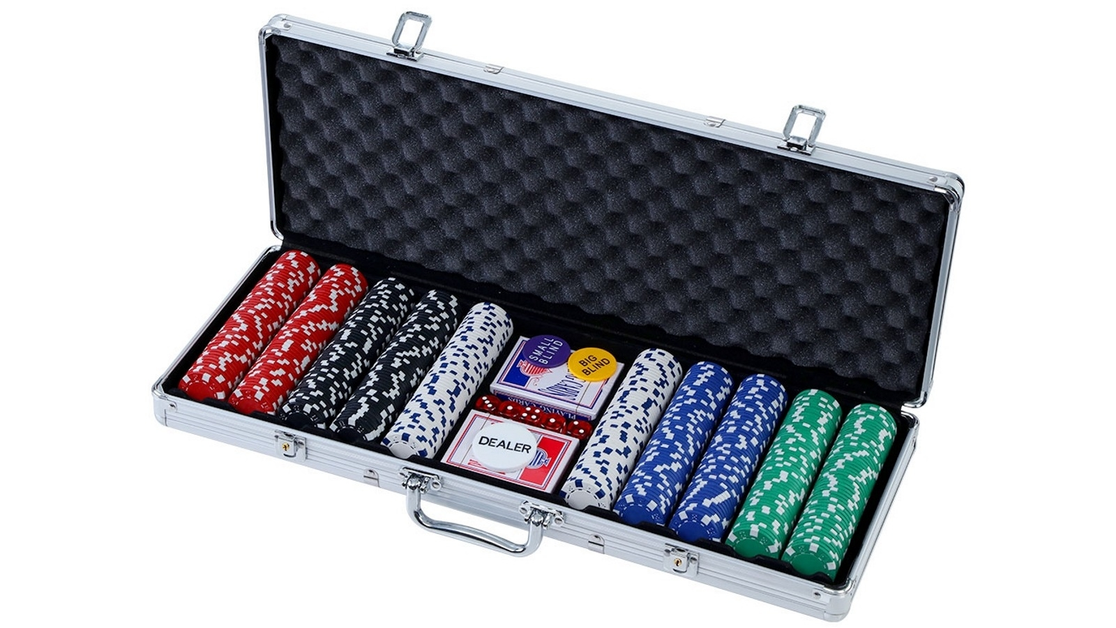 Buy Poker Chip Set 500pc Chips Cards Dice Harvey Norman Au