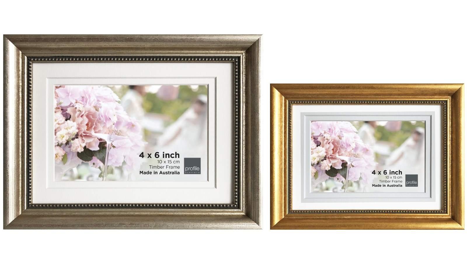 Image of Platinum Majestic 28x35cm/20x25cm Photo Frame