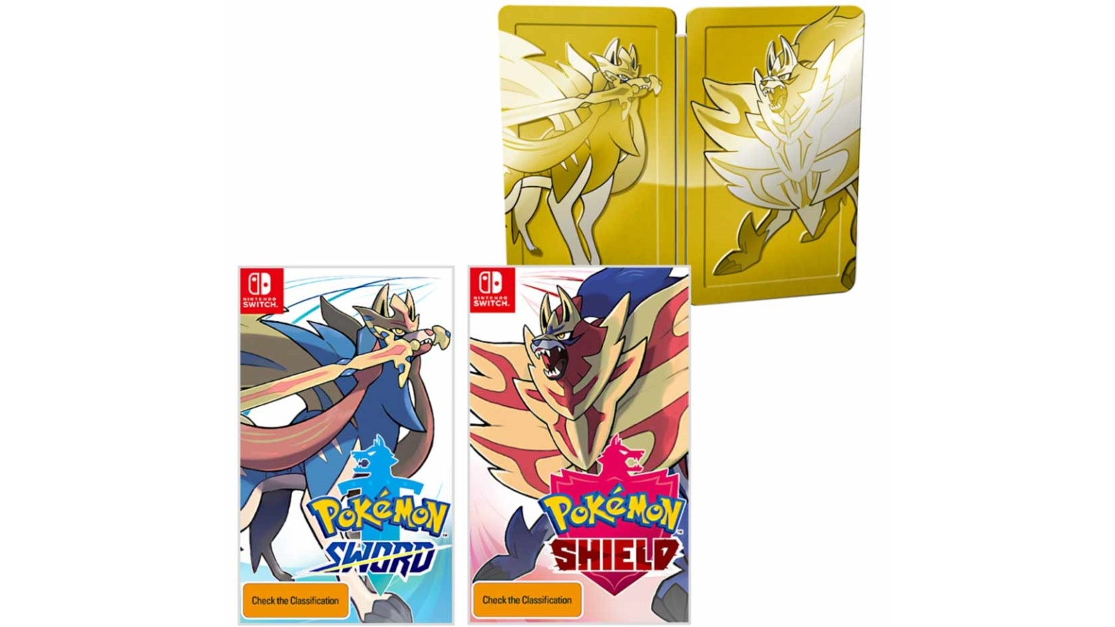 Pokemon Sword and Shield Dual Pack - Nintendo Switch