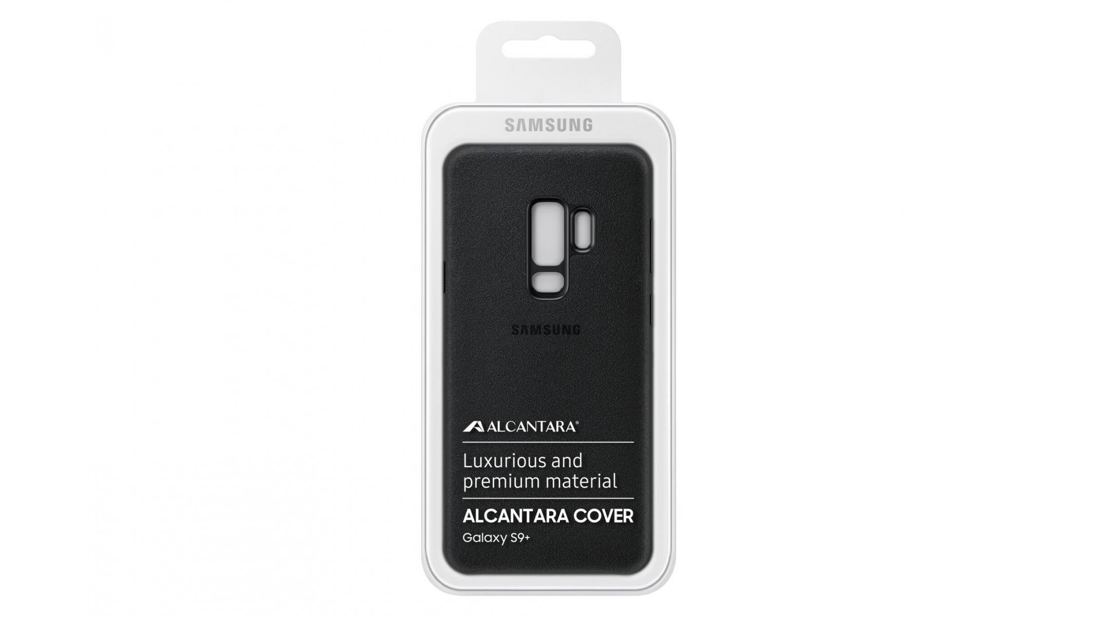 sports shoes 66cb9 6e712 Samsung Galaxy S9+ Alcantara Case - Black