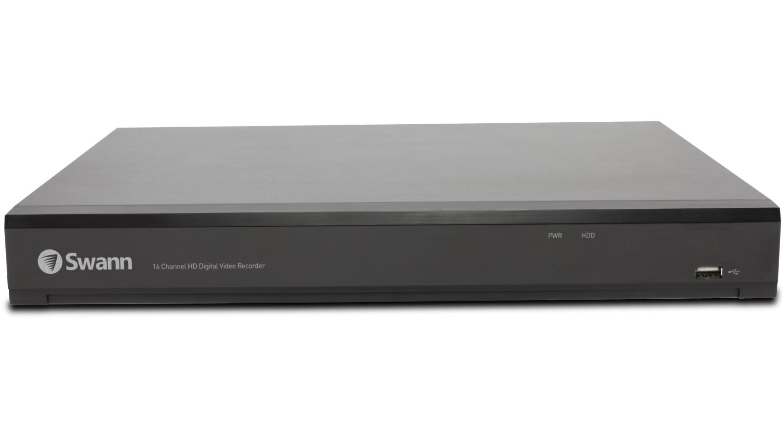 Swann DVR-5580 16 Channel 4K Digital Video Recorder with 8 4K Thermal  Sensing Camera