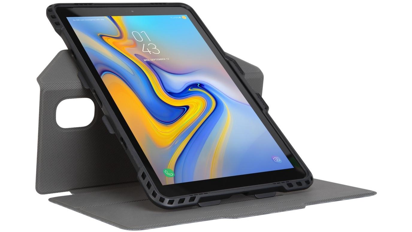 d31d8b6c797 Buy Targus Protek Rotating Case for Galaxy Tab A 10.5-inch 2018 - Black |  Harvey Norman AU