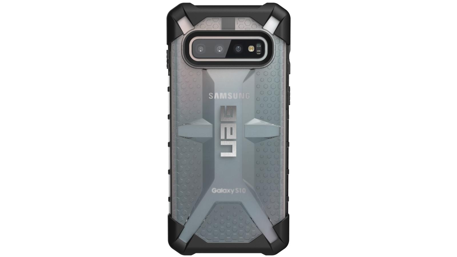 timeless design a41ec a286a UAG Plasma Case for Samsung Galaxy S10 - Ice