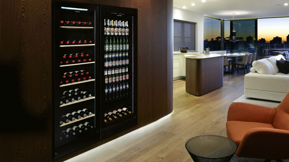 Vintec 170 Bottle Multi Zone Wine, Wine Rack Furniture Australia