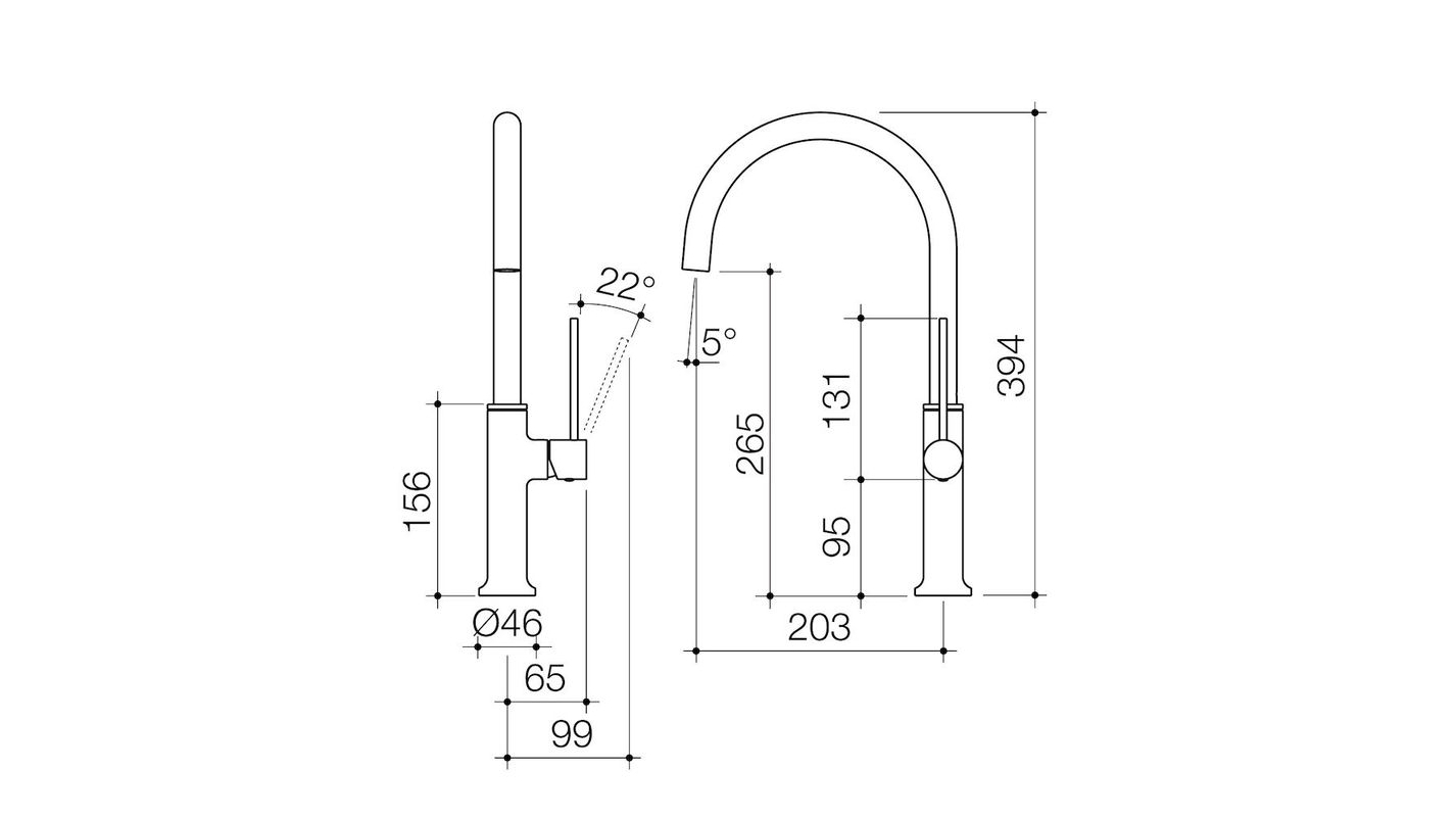 Hot Deals Dorf Willow Gooseneck Sink Mixer Harvey Norman Au Parallel Wiring Diagram Rails Neck