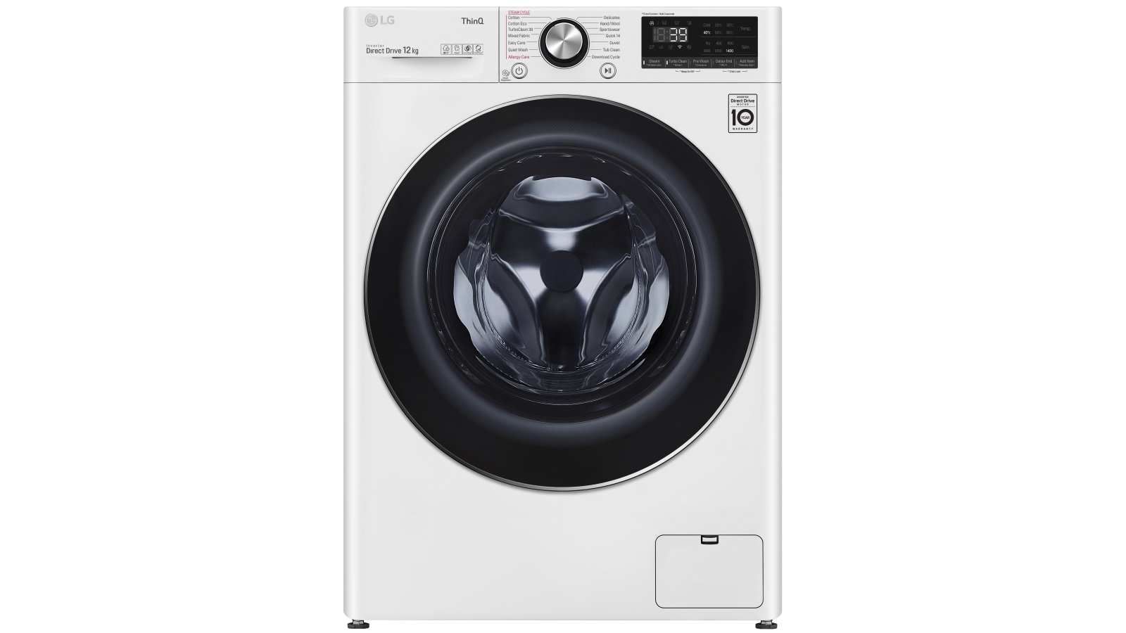 Image of LG Series 9 12kg Front Load Washing Machine with Turbo Clean 360