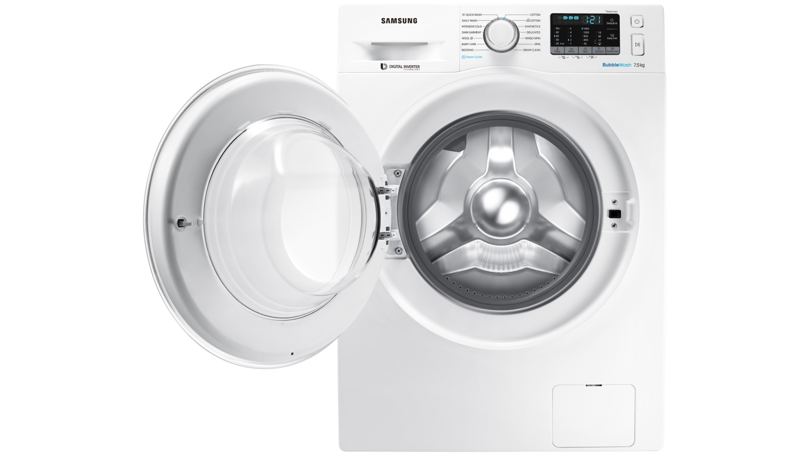 Buy Samsung 7 5kg Bubblewash Front Load Washing Machine With Steam Harvey Norman Au