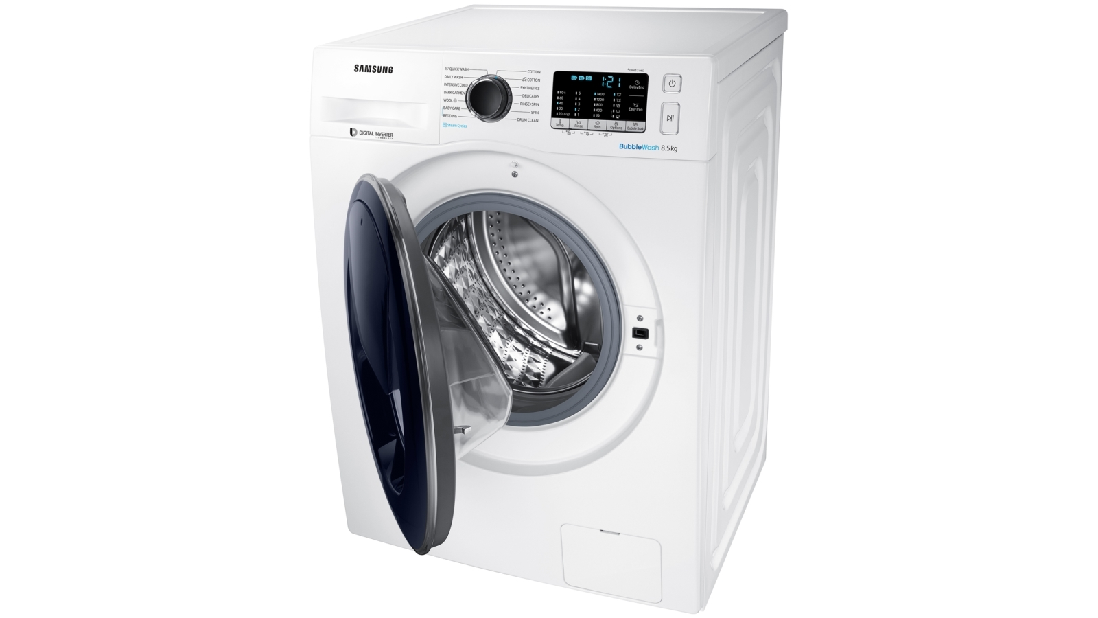 Samsung 8 5kg AddWash Front Load Washing Machine with Steam