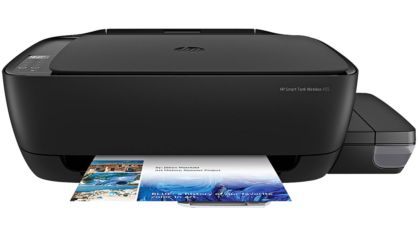 Buy Hp Smart Tank 455 Multifunction Printer Harvey Norman Au Ink Free Mobile Photo Technology