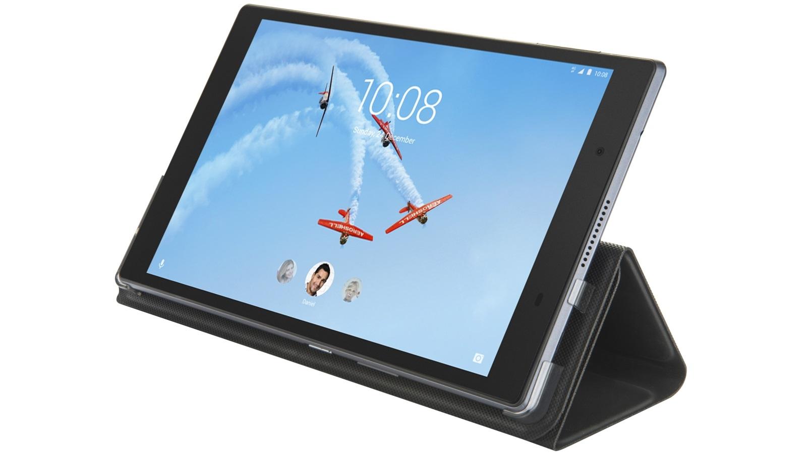 buy online 8b2d7 1851a Lenovo Tab 4 8 HD Folio Case - Black
