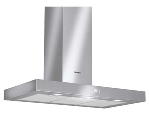 Bosch 90cm Wall-Mounted Stainless Steel Canopy Rangehood