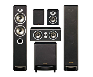 Accusound 5.1 Floorstanding Home Theatre Speaker System