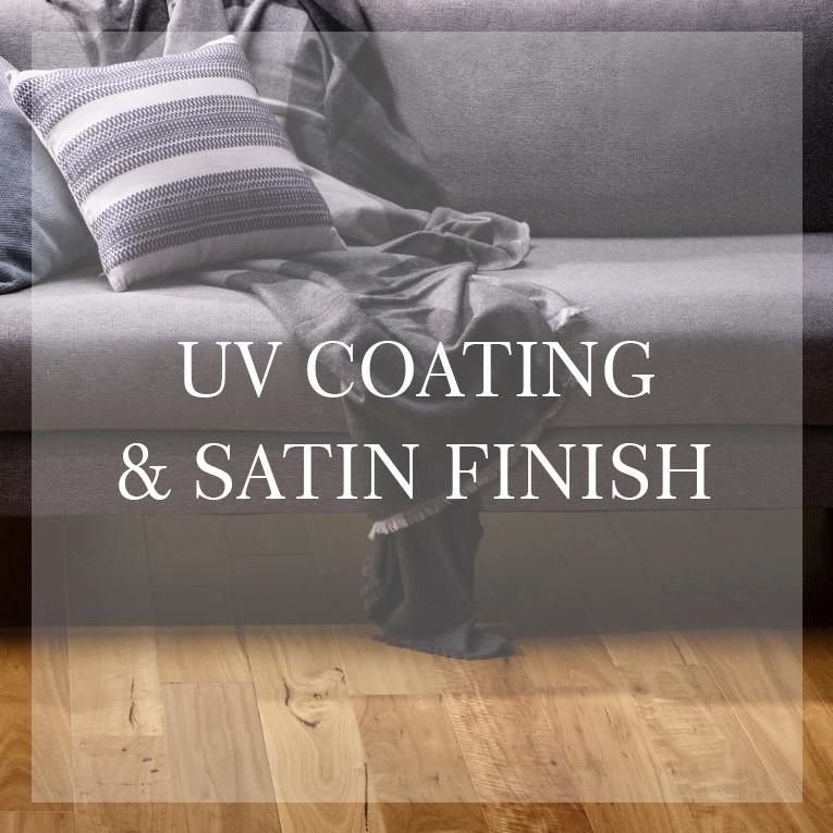 UV Coating & Satin Finish