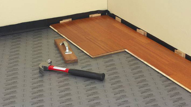Choosing the type of Timber flooring installation.