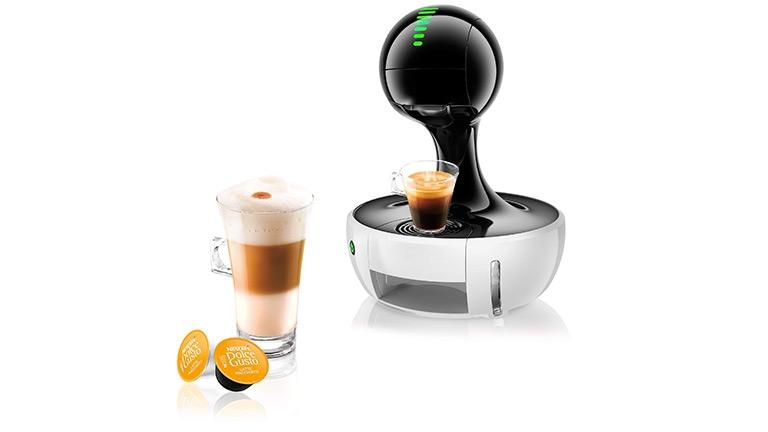 Drop White Coffee Machine