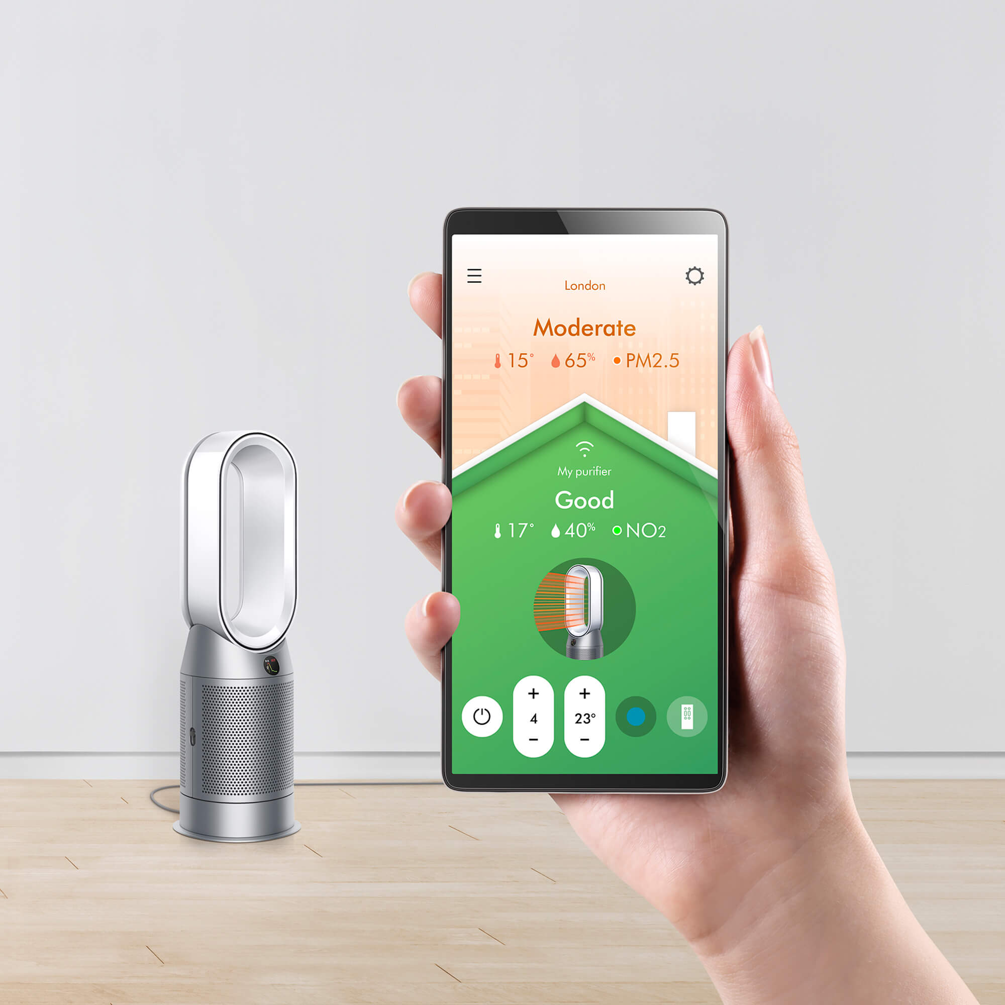 Dyson Pure HOT+COOL Connectivity