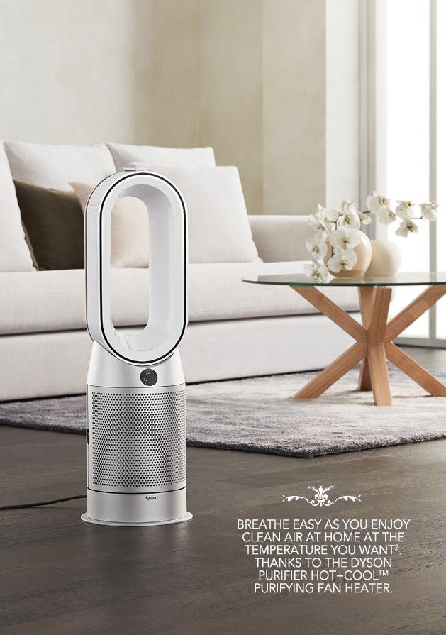 Dyson Purifier HOT+COOL Breath of fresh air