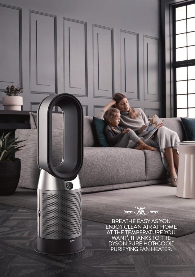 Dyson Pure HOT+COOL Breath of fresh air