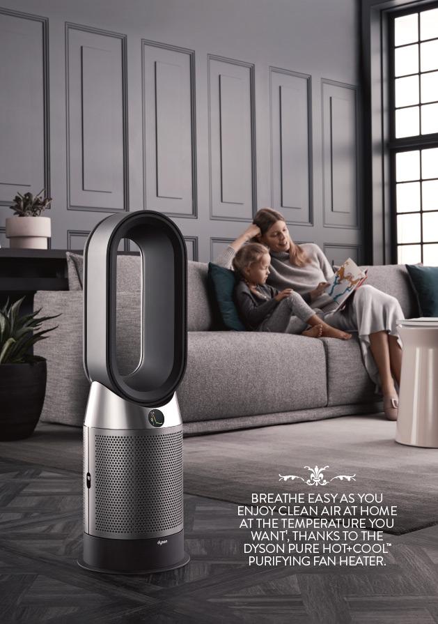 Dyson Pure HOT+COOL Breath of fresh air