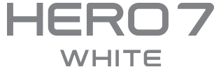 GoPro Hero7 White Logo