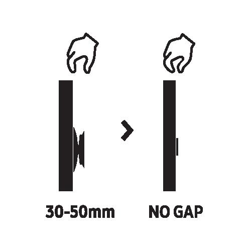No Gap Wall-Mount