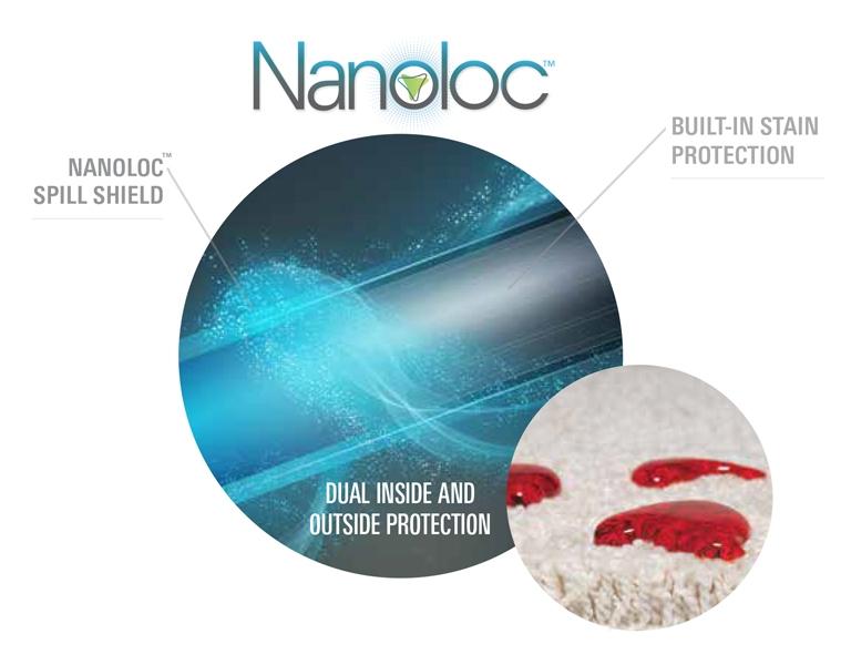 SmartStrand Nanoloc Spill & Soil Shield