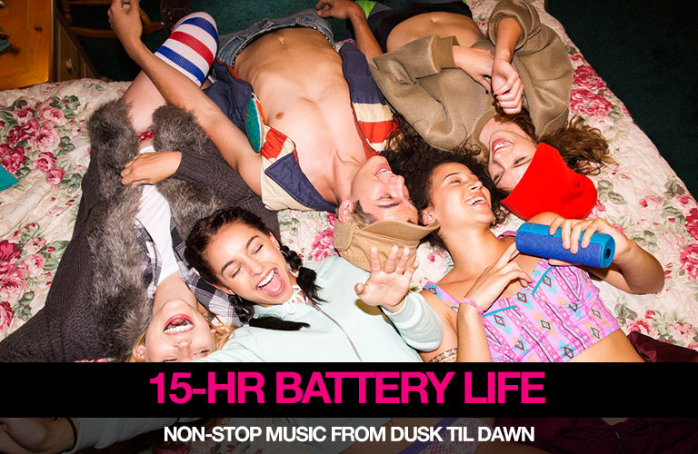 15-hr Battery Life