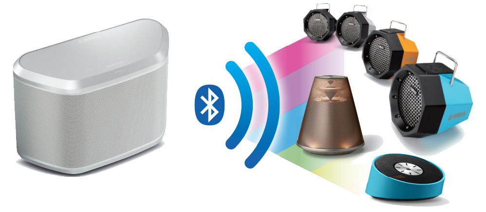 Stream music to bluetooth-compatible devices