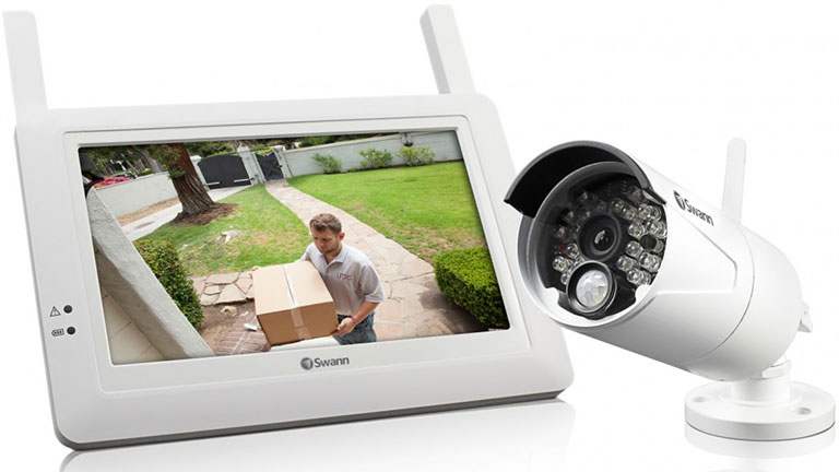 App-Connected Security Cameras
