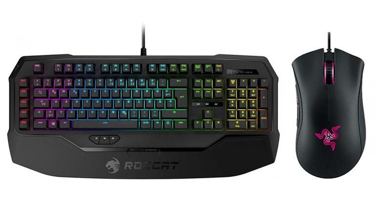 Gaming Keyboards & Mice