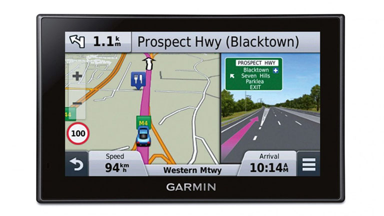 In-car GPS