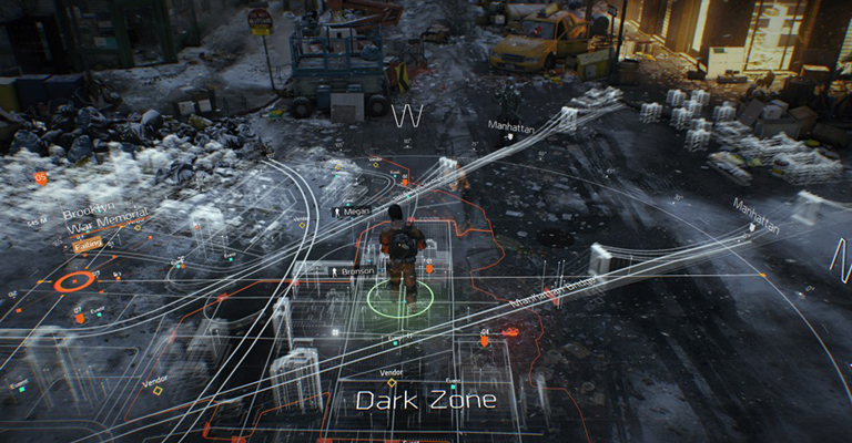 Seamless Multiplayer: The Dark Zone