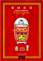 Smeg Dolce & Gabbana Citrus Juicer - Sicily is my Love 2