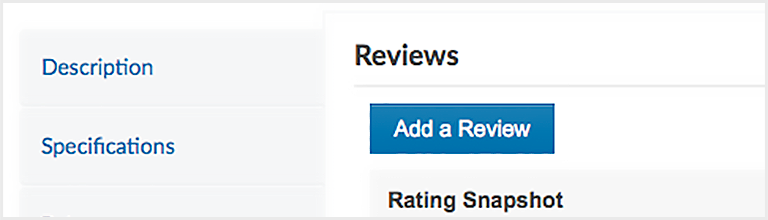 How to add a review