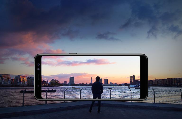 Buy Samsung Galaxy A8 32GB - Black | Harvey Norman AU