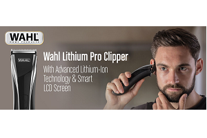 Wahl Lithium Pro Hair Cutting Kit - Black 1