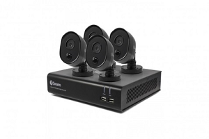 Swann 4 Channel Security System 1080P Full HD DVR-4480 Thermal Sensing  Camera
