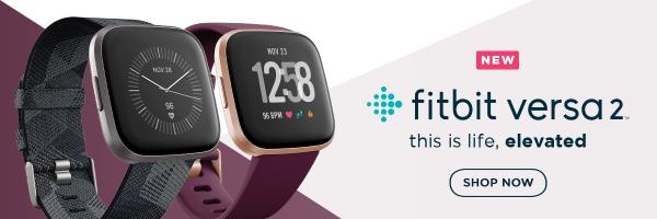 Fitbit Versa 2 Fitness Watch - Bordeaux / Copper Rose 1