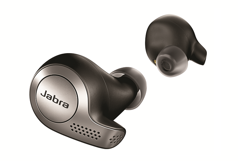 Side view of the Jabra earbuds