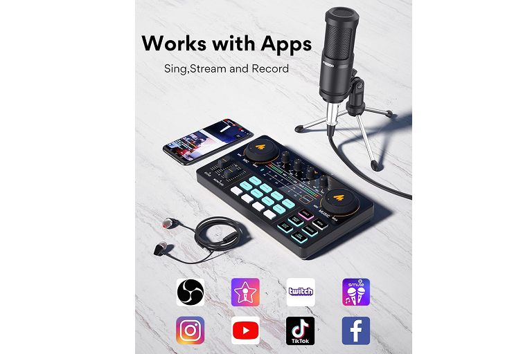 Sing, Stream, and Record