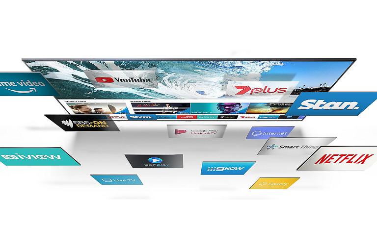 Buy Samsung 55-inch Q7 4K UHD QLED Smart TV | Harvey Norman AU