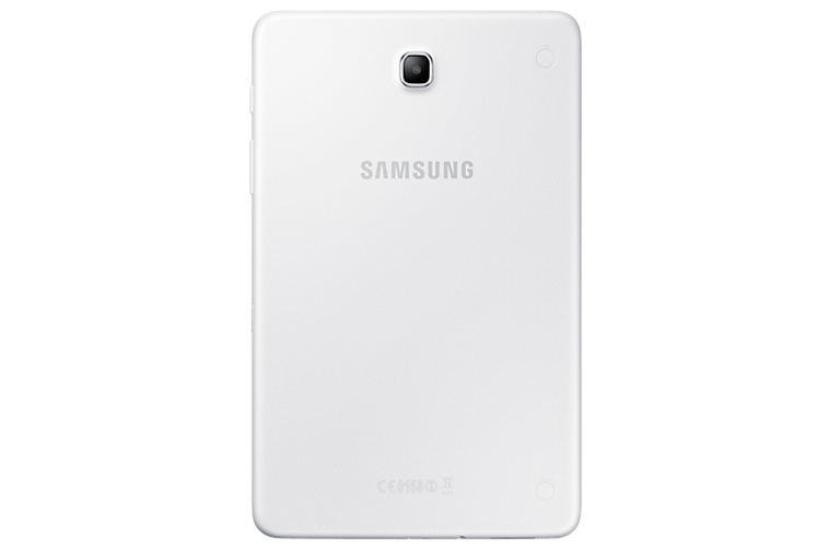 Back of Galaxy tablet