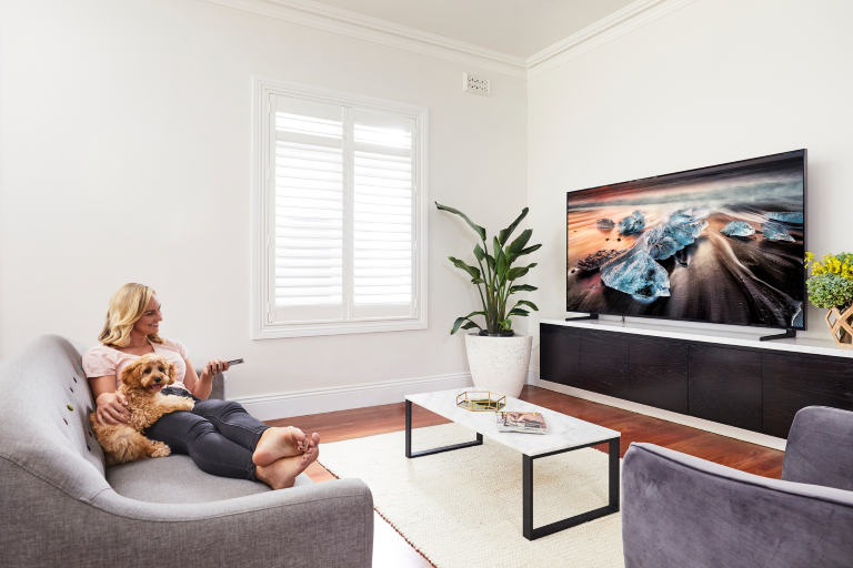 SAMSUNG 65-INCH Q900 8K QLED SMART TV melbourne hifi